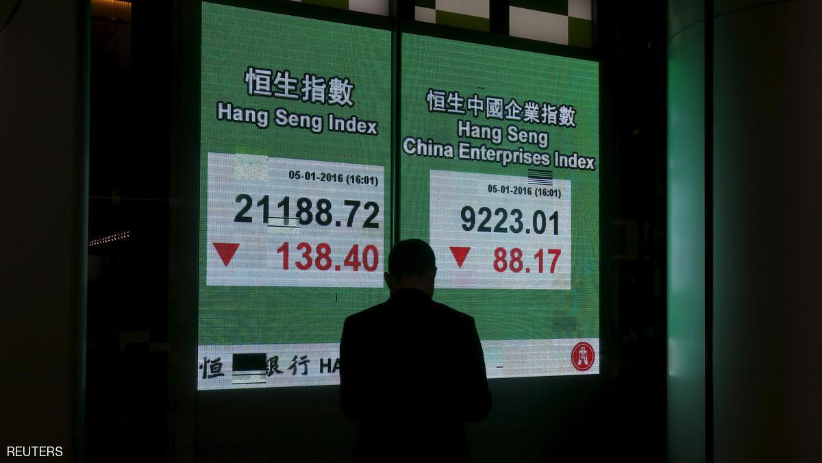 الأسهم العالمية خسرت 8 تريليونات دولار في يناير — بنك