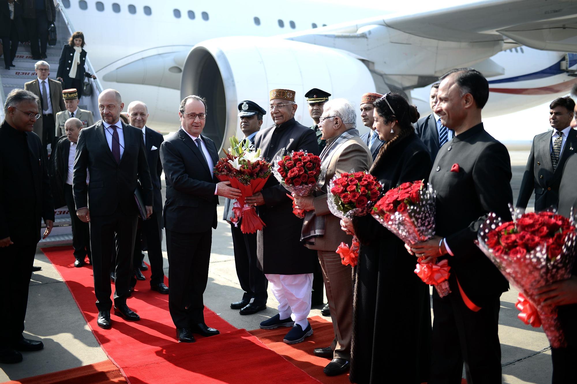 الرئيس الفرنسي في الهند في زيارة تستمر 3 ايام