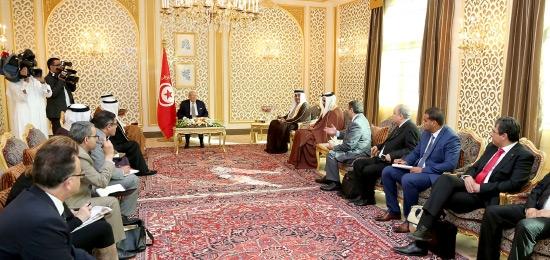 اللقاء الصحفي الذى عقده للرئيس التونسي صباح أمس الاربعاء