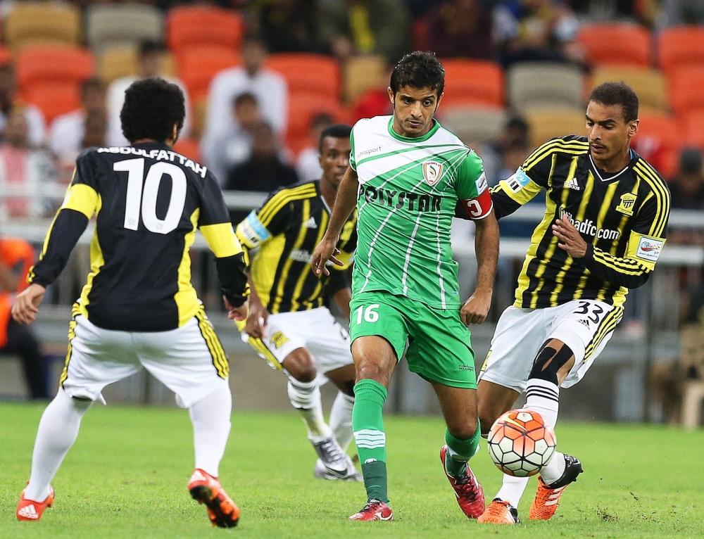 من منافسات الدوري السعودي