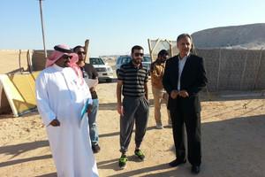 لجنة جائزة الشيخ ناصر الأسبوعية لأفضل مخيم تباشر أعمالها بزيارة المخيمات