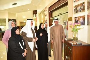حميدان يدعو إلى تكثيف جهود التسويق والترويج لإبراز منتجات الأسر المميزة