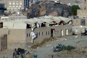 مسلحو القاعدة يفجرون مقرين أمنيين بمحافظة أبين اليمنية