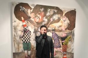 الفنان العراقي سنان حسين: جميعنا متصوفون... ولن أقع في فخ المتلقي