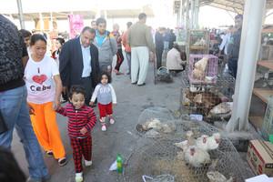 بالصور... سوق مدينة عيسى الشعبي