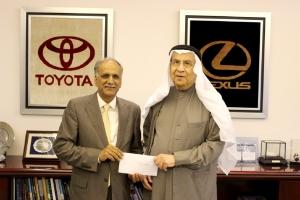«إبراهيم خليل كانو» تتبرع للجمعية البحرينية للإعاقة الذهنية والتوحد