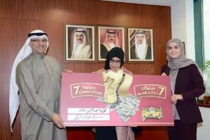 فوزية عبدالرحمن تفوز بـ 500 ألف دولار كبرى جوائز «تجوري» لعام 2015