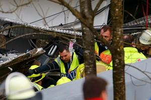 وفاة 4 وإصابة 150 آخرين في حادث قطار بألمانيا