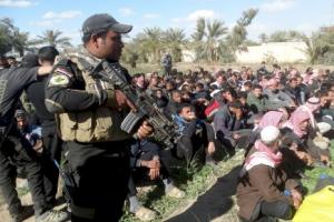الجيش العراقي يمهد لتحرير الموصل