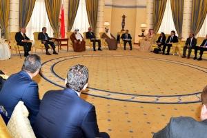 لدى استقباله أعضاء لجنة الأمم المتحدة للاستثمار... نائب جلالة الملك يشيد بتواصل نماء وتطور القطاع الخاص
