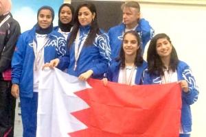 الذهب للرماية والبرونز للطاولة في دورة السيدات العربية