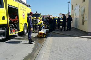 بالصور... وفاة شخص وإصابة آخرين بحريق اندلع في منزل بسترة