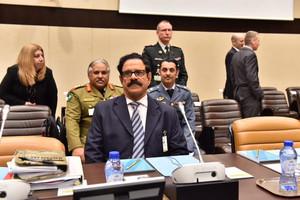 وزير شئون الدفاع يشارك في اجتماع وزراء الدفاع بدول التحالف الدولي ضد  تنظيم