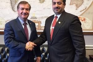 سفير البحرين في واشنطن يشيد بدعم الكونغرس الأميركي للبحرين تجاه التدخلات الإيرانية
