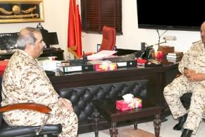 القائد العام يتفقد وحدات قوة دفاع البحرين... ويتابع الخطط التطويرية