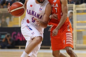 شاهد صور فوز المنامة على الحالة في النهائي الأول لكأس السلة