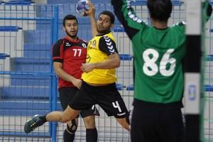 شاهد صور فوز الأهلي على الاتفاق بدوري كرة اليد