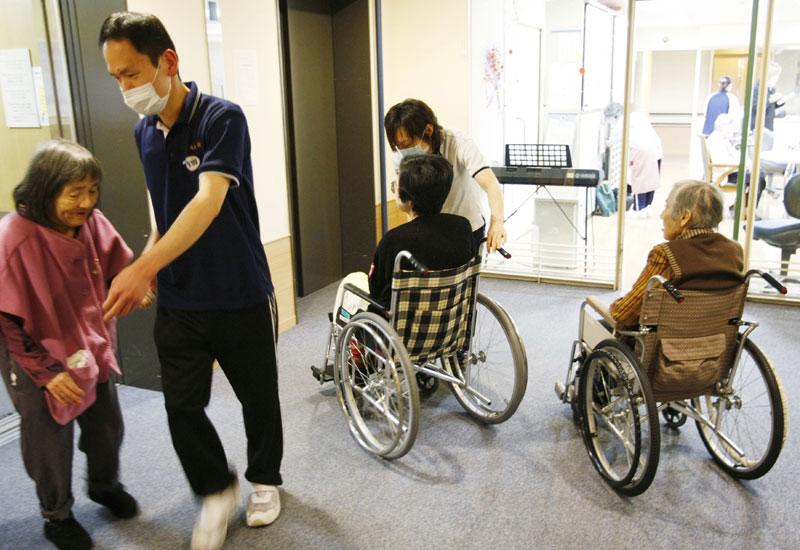 دار لرعاية المسنين في اليابان  (أرشيفية)