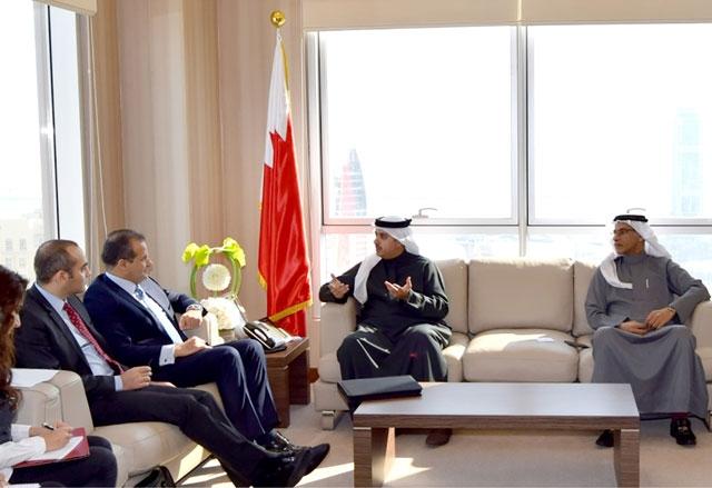 النسور ملتقياً الأمين العام للتظلمات