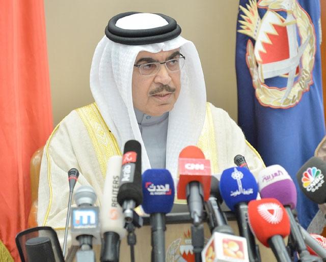 وزير الداخلية: شيعة البحرين فرضت عليهم ولاية الفقيه من إيران