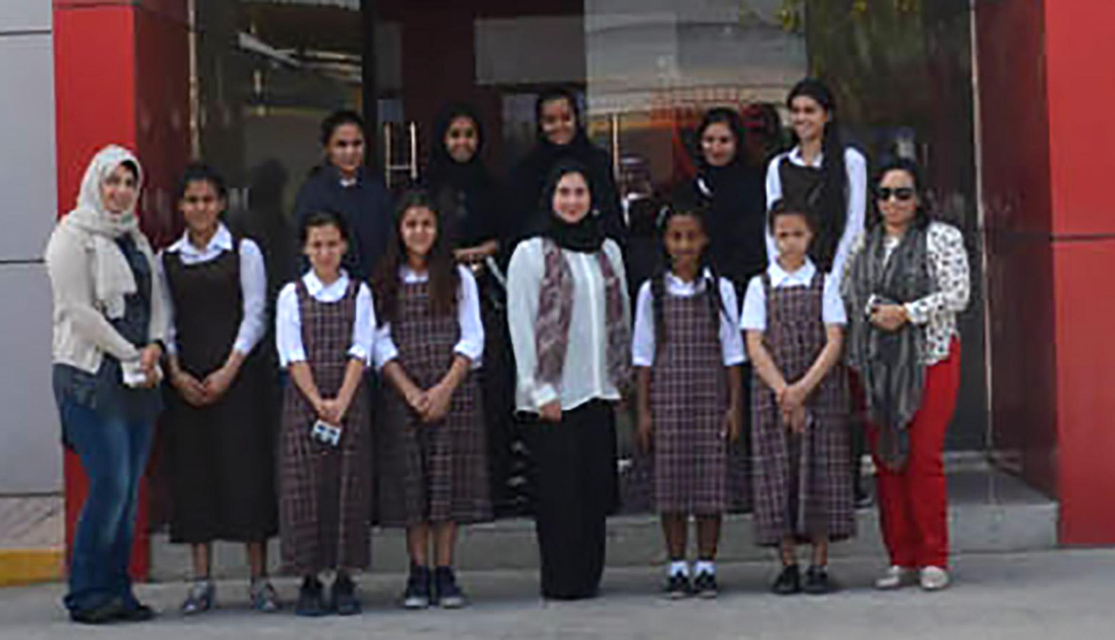 مدرسة الخليج العربي الاعدادية للبنات