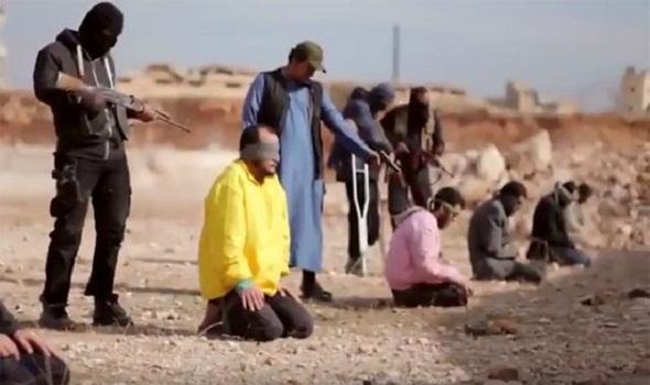 صورة أرشيفية لإحدى الإعدامات في إدلب