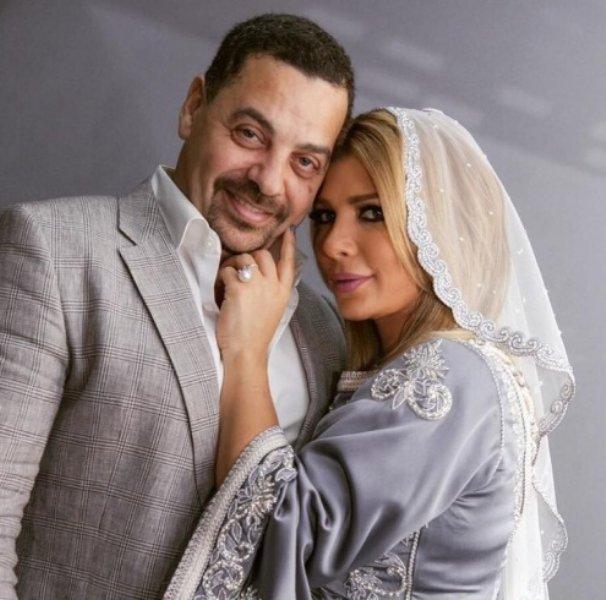 أصالة نصري وزوجها طارق العريان