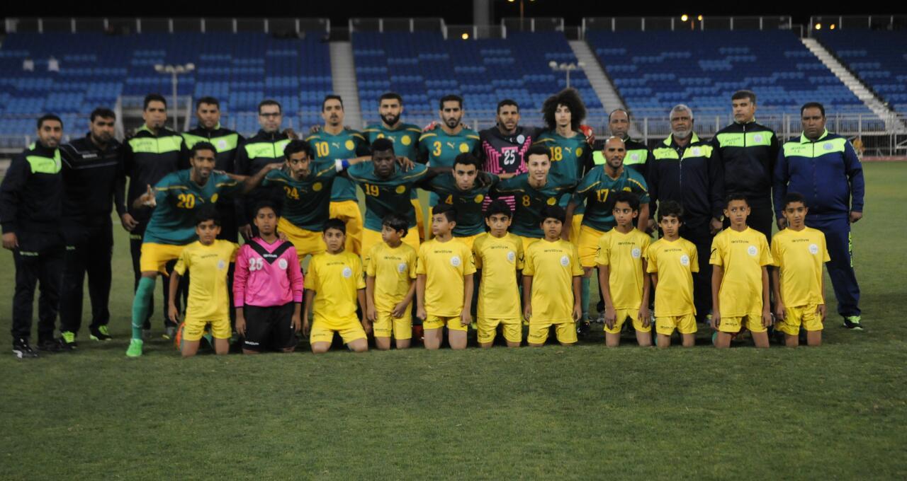 فريق المالكية قبل اللقاء النهائي