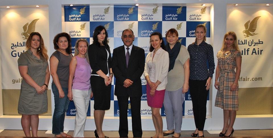 رحلة تعريفية إلى البحرين لمجموعة من ممثلي وكالات السفر والسياحة من موسكو