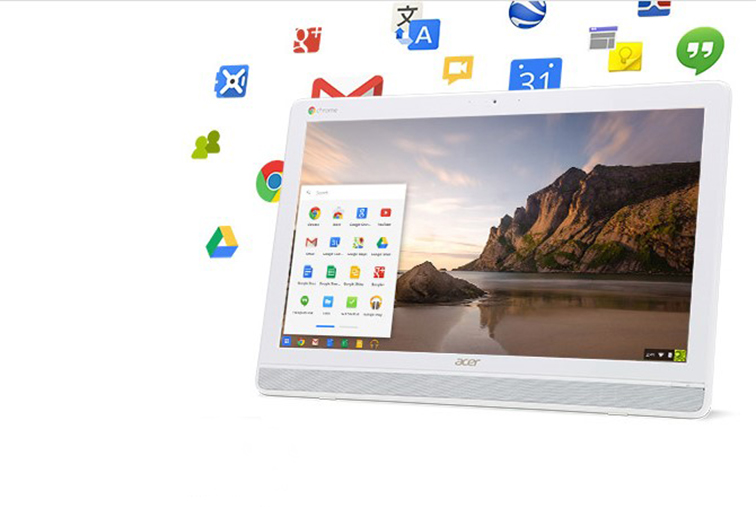 جوجل وأيسر تكشفان عن جهاز Chromebase للإجتماعات