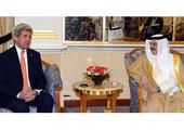 جلالة الملك المفدى يستقبل وزير الخارجية الامريكي