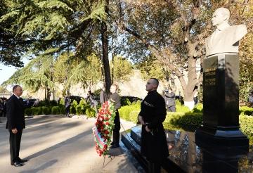 ضمن احتفالات ذكرى حيدر علييف في باكو( صورة ارشيفية)