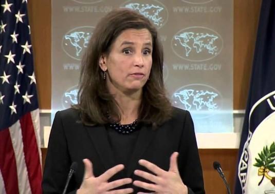 المتحدثة باسم الخارجية<br />الأميركية إليزابيث ترودو