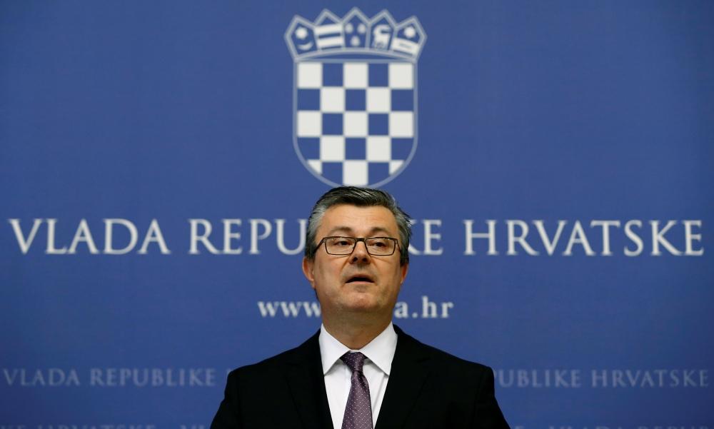 رئيس الوزراء الكرواتي تيهومير أوريسكوفيتش