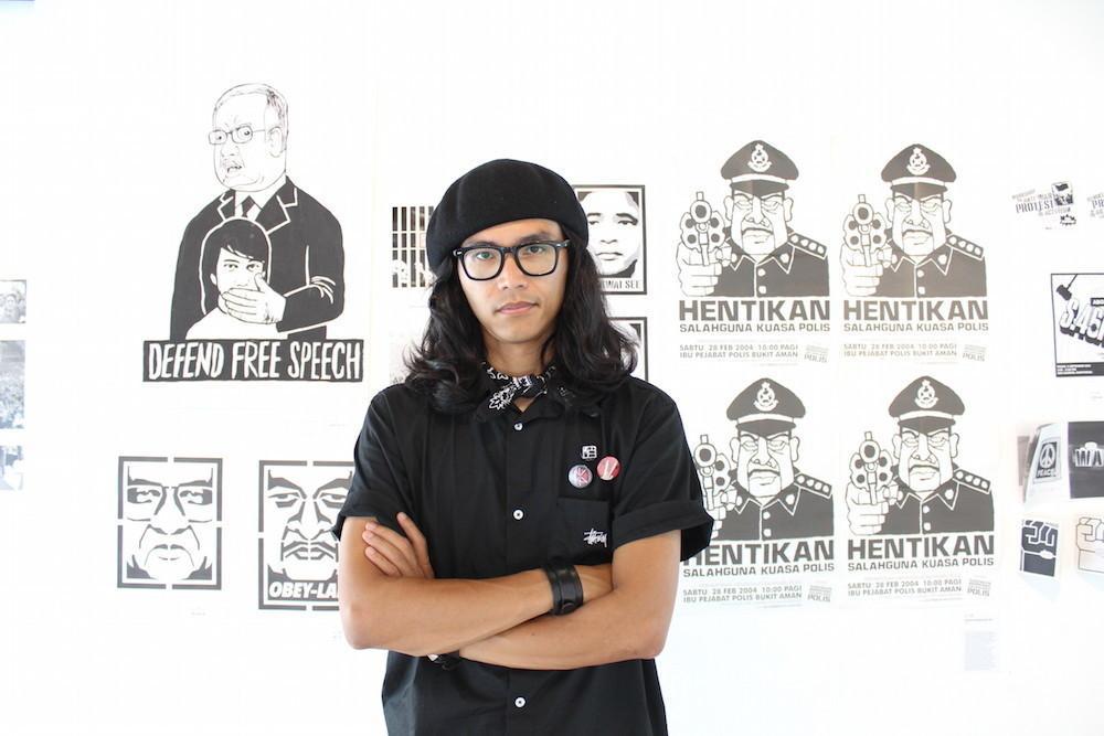 فنان الجرافيك الماليزي فهمي رضا