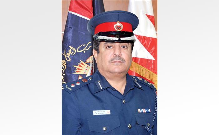 مدير إدارة العمليات والمراقبة المرورية العقيد علي محمد النعيمي