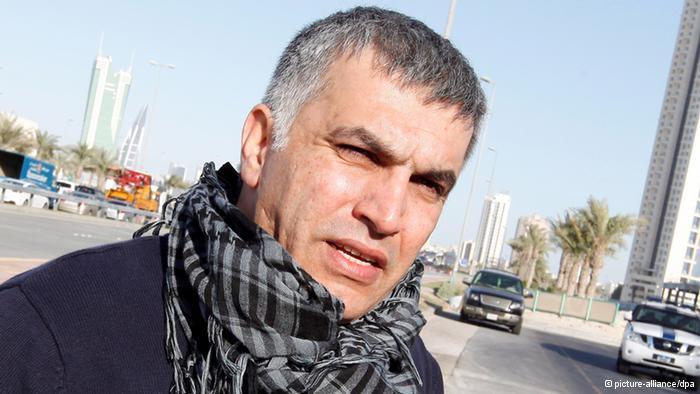الناشط الحقوقي نبيل رجب