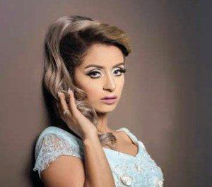 المذيعة والممثلة الصاعدة نسرين سروري