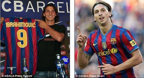 وقع لبرشلونة عام 2009 لكنه كان لم يروق له الوضع فى البارسا، ليرحل بعدها بعام واحد