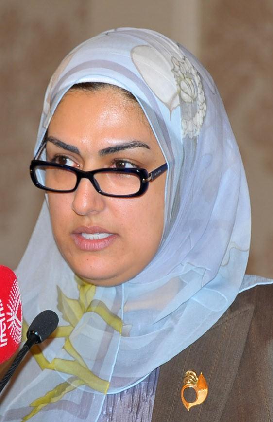 الأمين العام للمجلس الأعلى للمرأة هالة الأنصاري