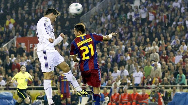 رأسية تساوي كأس ملك إسبانيا