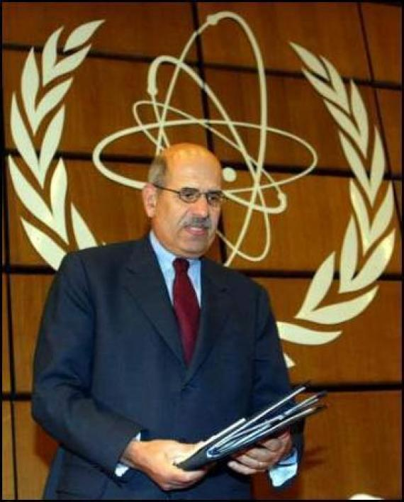 محمد البرادعي (مصر) نوبل للسلام عام 2005