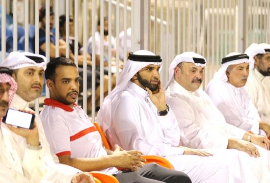 شهد اللقاء حضوراً رسمّياً من الاتحاد والمحرق - تصوير أحمد آل حيدر
