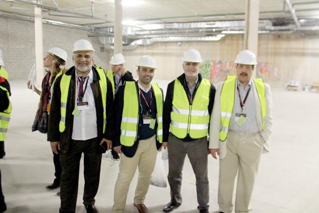 عدد من أعضاء المجالس البلدية في زيارة لمدينة برشلونة مؤخراً