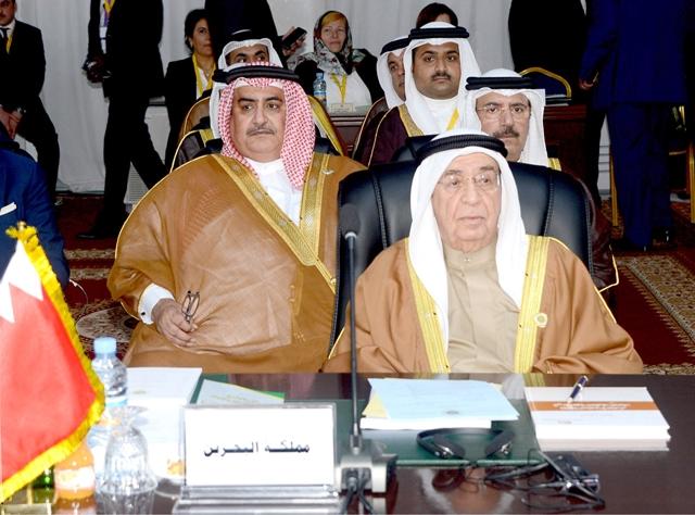 نائب رئيس مجلس الوزراء ممثلاً العاهل في الجلسة الافتتاحية للقمة العربية السابعة والعشرين
