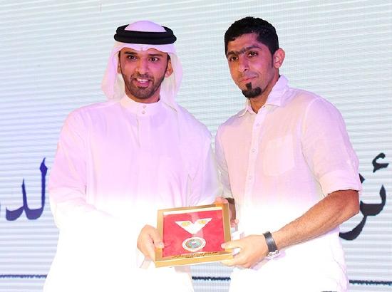 تكريم عباس أحمد بجائزة أفضل حارس
