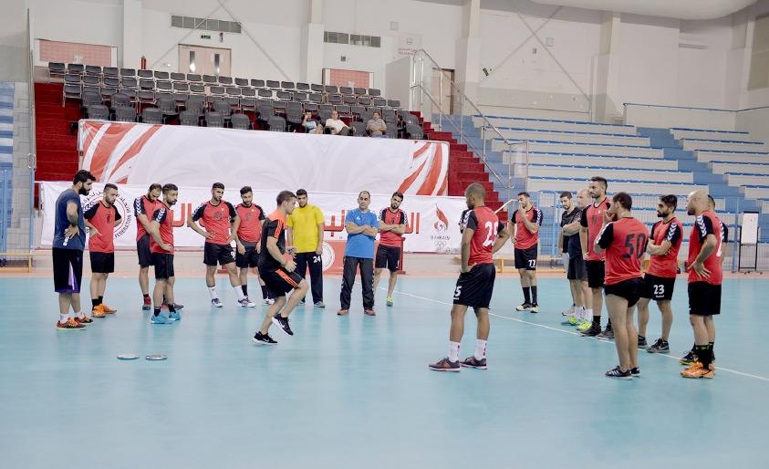 منتخب اليد يبدأ استعداداته لنهائيات كأس العالم - تصوير أحمد ال حيدر