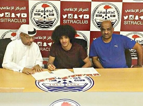 التوقيع مع اليمني الدعيس بحضور النبول والخضران