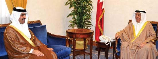 سمو نائب رئيس مجلس الوزراء مستقبلاً رئيس الجهاز الأمني