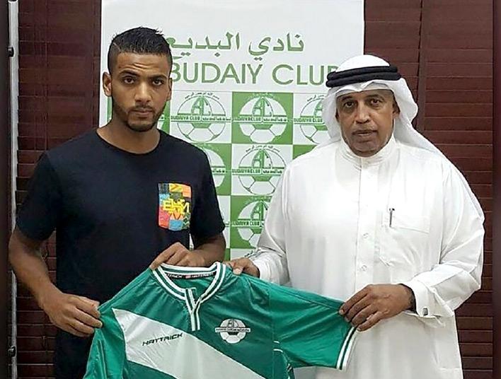 المغربي بن عدي يرفع القميص الأخضر